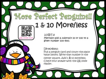 More Perfect Penguins! (Mentally Add 1 & 10 More/less)