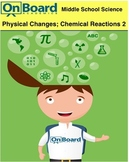 More Physical Changes and Chemical Reactions-Interactive Lesson
