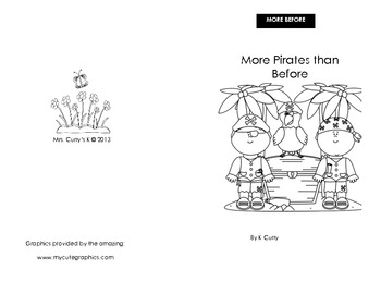 More Pirates Emergent Reader (more before reader)