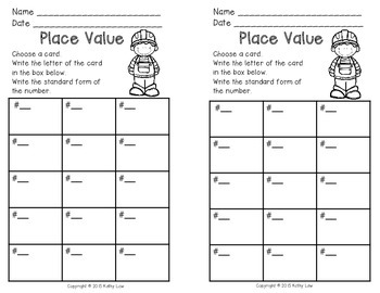 More Place Value Task Cards
