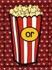 More Popcorn! or/ore Sort & Activities