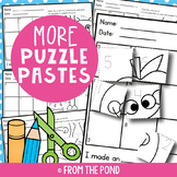 Number Worksheets - Cut and Paste Puzzles