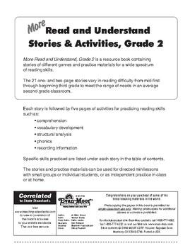 More Read & Understand, Grade 2