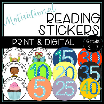 Reading Badges for Independent Reading Challenge