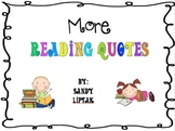 More Reading Quotes