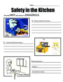 More Safety in the Kitchen (scenarios)