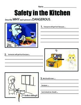 More Safety in the Kitchen (scenarios)