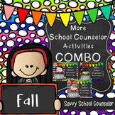 More School Counselor Activities Fall COMBO