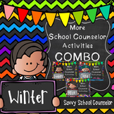 More School Counselor Activities Winter COMBO