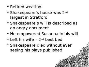 More Shakespeare PowerPoint