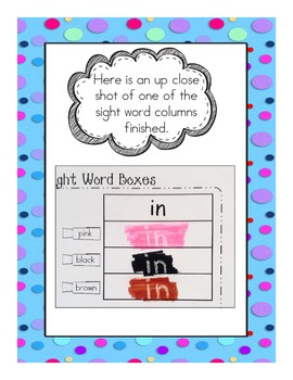 More Sight Word Activities PrePrimer to Grade2 Dolch Lists