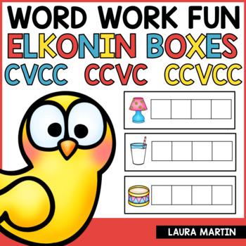 Sound Boxes-Short Vowels CVCC CCVC CCVCC