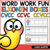 Sound Boxes | Short Vowels CVCC CCVC CCVCC