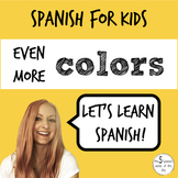 More Colors in Spanish | Elementary Spanish