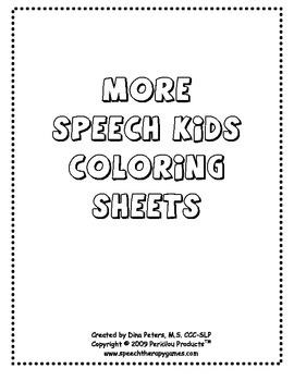 More Speech Kids