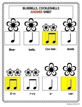 Spring Music: Rhythm and Melody Worksheets