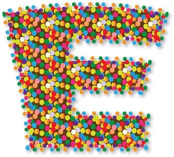 "More Sprinkles Please! Alphabet - 98 pcs  - 300 DPI - PDF & PNGs - 4"" High"