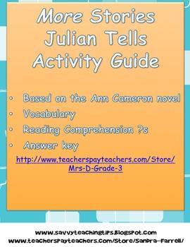 More Stories Julian Tells Activity Guide