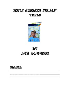 Punctuation with answers teaching resources teachers pay teachers more stories julian tells by ann cameron literature response log fandeluxe Choice Image