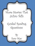 More Stories That Julian Tells: Guided Reading Questions