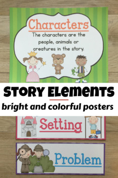 More Story Element Posters!