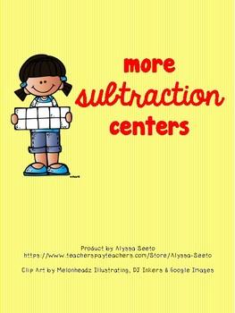 More Subtraction Centers