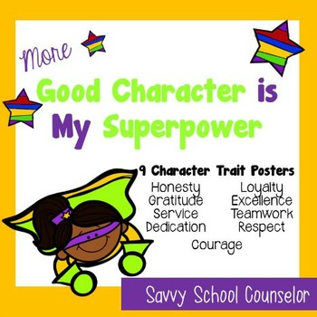 More Super Power Character Trait Posters