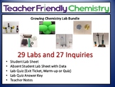 Growing Chem Lab Bundle: More Teacher Friendly Labs PDF 29 Labs 27 Inquiry