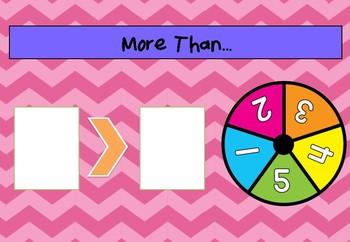 More Than, Less Than Maths Games
