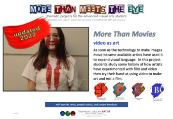 More Than Movies - Video As Art