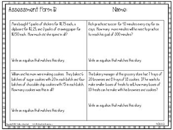 4th Grade Guided Math Toolkit: Multistep Word Problems and Estimation Strategies