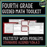 Multistep Word Problems and Estimation Strategies: 4th Grade Guided Math Toolkit