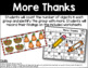 More Thanks - Number Identification
