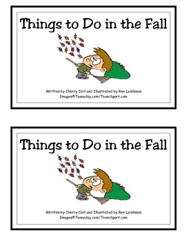 More Things to Do in the Fall Guided Reader