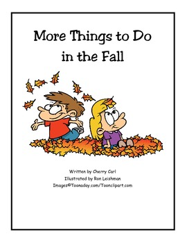 More Things to Do in the Fall Read Aloud