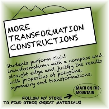 More Transformation Construction