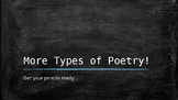 More Types of Poetry Lesson 2