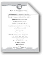 More Types of Pronouns (Indefinite, Demonstrative, Interrogative)