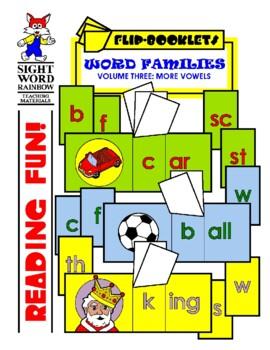 More Vowels Flip Booklets