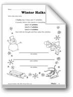 More Winter Language Activities