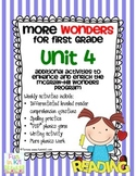 More Wonders for First Grade Unit 4