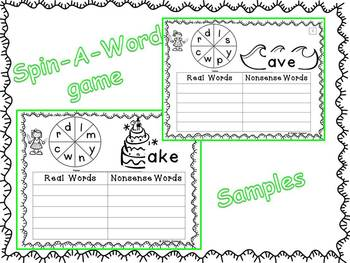 Long Vowel Word Families - Kiddos Connect ALL YEAR with  Wonderful Word Families