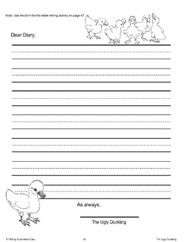 More Writing Activities: The Ugly Duckling
