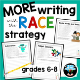 RACE Strategy Prompts and Passages 6th-8th Grades | More Passages