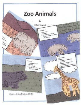 More Zoo Animal Projects for a Week