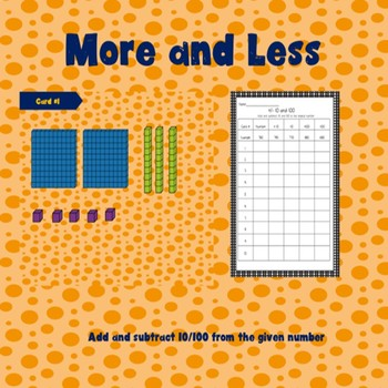 More and Less: Digital and Printable Cards