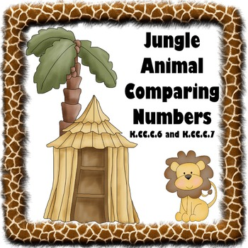 Jungle Animal Comparing Numbers