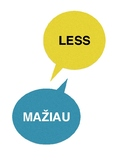 More and Less in Lithuanian
