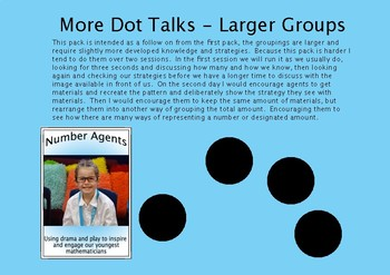 More dot talks, with numbers in the teens