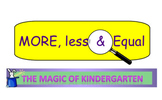 More, less and equal Smartboard Resource